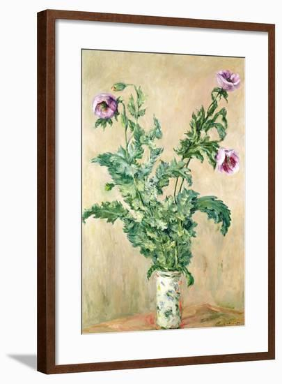 Poppies, C.1882-Claude Monet-Framed Giclee Print