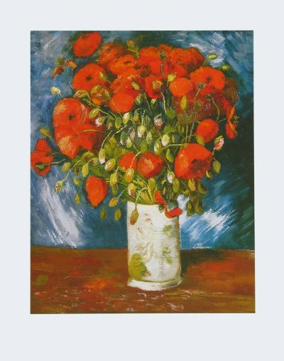 Poppies, c.1886-Vincent van Gogh-Art Print