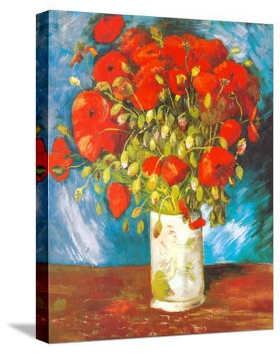 Poppies, c.1886-Vincent van Gogh-Stretched Canvas Print
