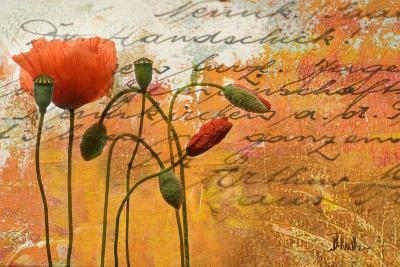 Poppies Composition I-Patricia Pinto-Premium Giclee Print