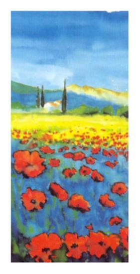 Poppies Forever I-Anton Knorpel-Art Print