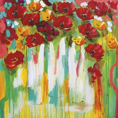 Poppies Glowing-Amanda J^ Brooks-Art Print