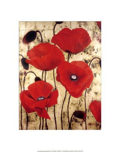 Poppies I-Dana Del Castillo-Art Print