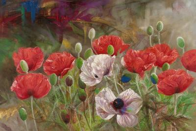 Poppies III-li bo-Giclee Print