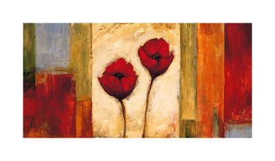Poppies in Rhythm II-Brian Francis-Giclee Print