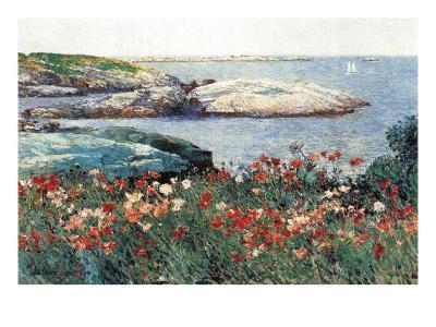 Poppies, Isle of Shoals-Childe Hassam-Art Print