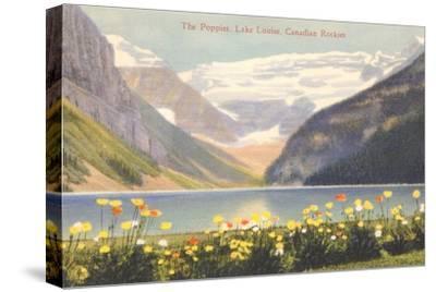 Poppies, Lake Louise, Canadian Rockies