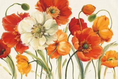 Poppies Melody I-Lisa Audit-Art Print