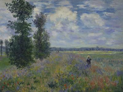 Poppies (Near Argenteuil) 1873-Claude Monet-Giclee Print