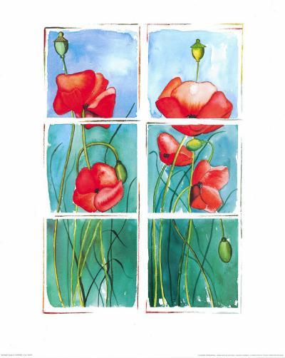 Poppies-P. Sonja-Art Print