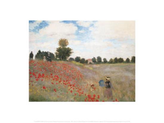 Poppies-Claude Monet-Art Print