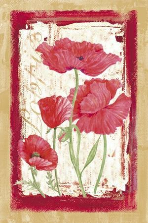 Poppies-Maria Trad-Giclee Print
