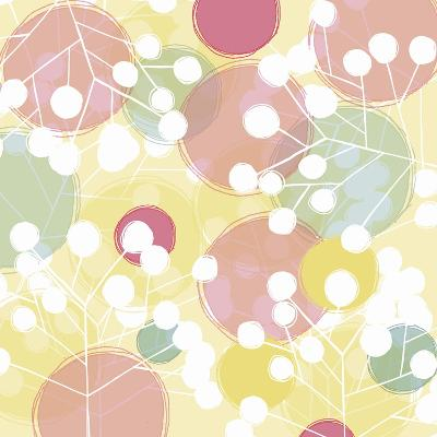 Popping Flowers I-Ali Benyon-Art Print