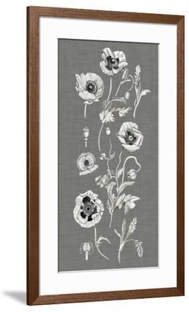 Poppy Array II-Naomi McCavitt-Framed Giclee Print