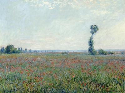 Poppy Field, 1881-Claude Monet-Giclee Print