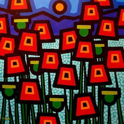 Poppy Field-John Nolan-Giclee Print