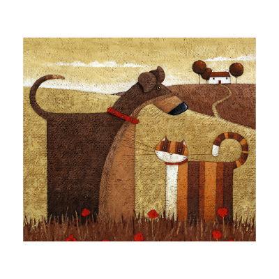 Poppy Field-Peter Adderley-Art Print