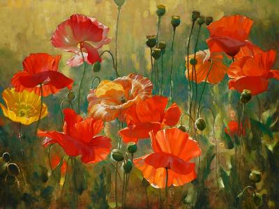 Poppy Fields-Emma Styles-Art Print