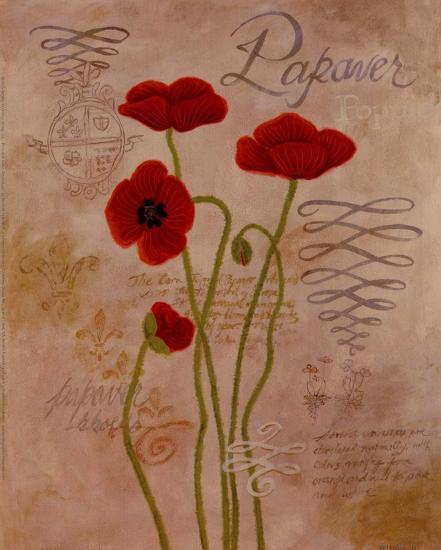Poppy Fresco I-Adam Guan-Art Print