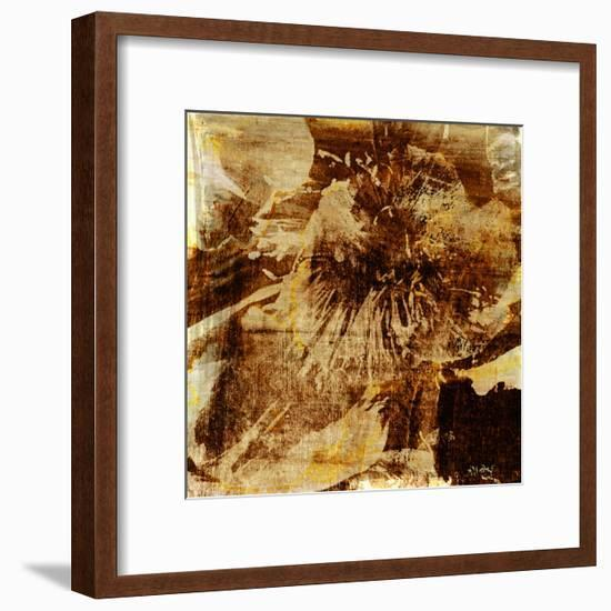 Poppy Gold I-Sia Aryai-Framed Art Print