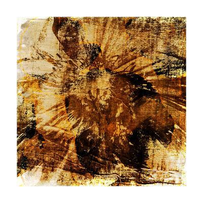 Poppy Gold II-Sia Aryai-Art Print