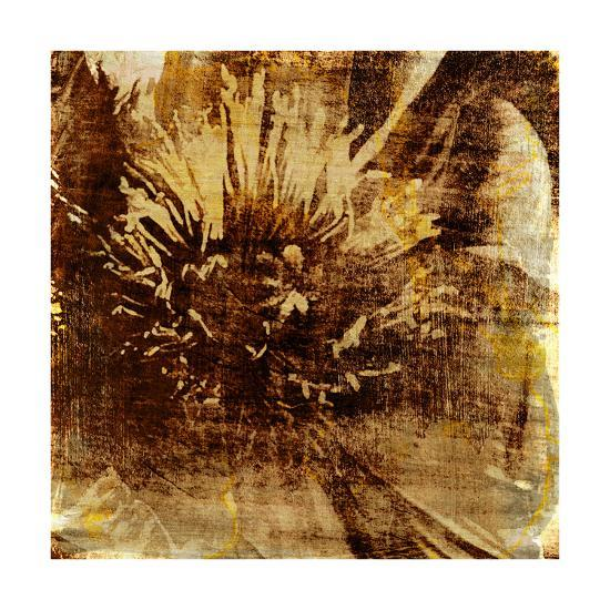 Poppy Gold IV-Sia Aryai-Art Print