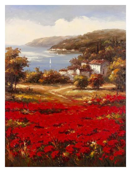 Poppy Harbor-Marino-Art Print