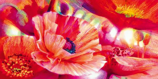 Poppy Homage-Nick Vivian-Giclee Print