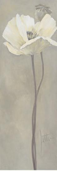 Poppy in White V-Jettie Roseboom-Art Print