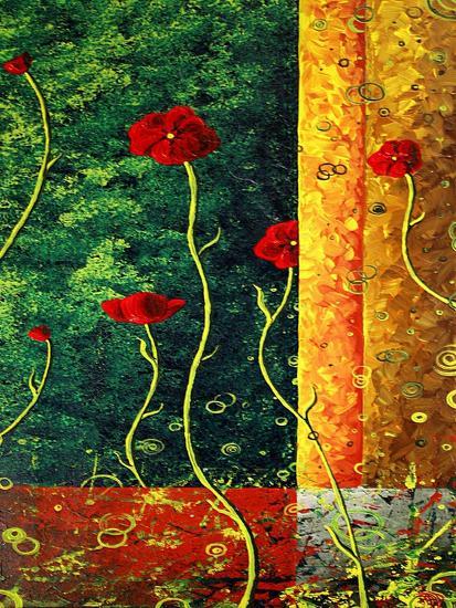 Poppy Madness-Megan Aroon Duncanson-Art Print