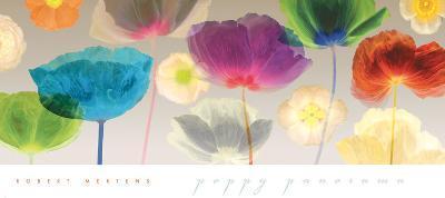 Poppy Panorama-Robert Mertens-Art Print