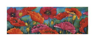Poppy Parade-Helen Downing-Hunter-Giclee Print