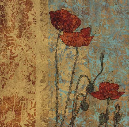 Poppy Pattern I-Eloise Ball-Art Print