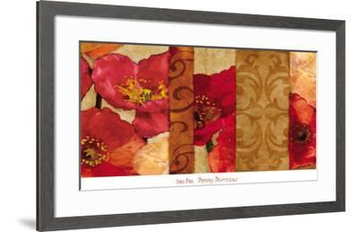 Poppy Patterns-Janel Pahl-Framed Art Print