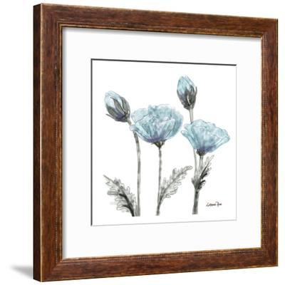 Poppy Perched 1-Lorraine Rossi-Framed Art Print