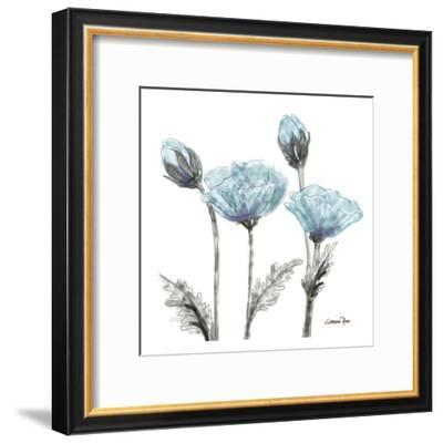 Poppy Perched 1-Lorraine Rossi-Framed Art Print