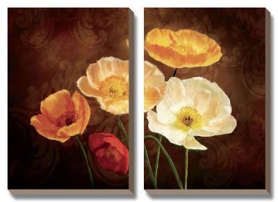 Poppy Perfection II-Janel Pahl-Canvas Art Set