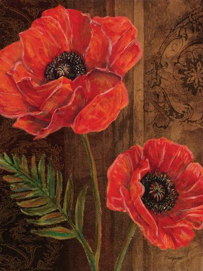 Poppy Portrait II-Todd Williams-Art Print