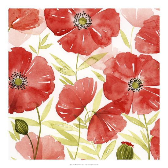 Poppy Screen II-Grace Popp-Art Print