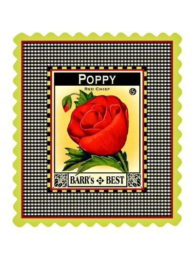Poppy Seed Pack--Giclee Print