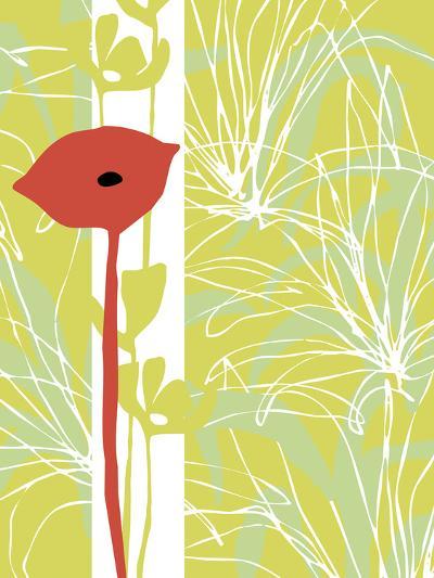 Poppy Skies II-Callie Crosby and Rebecca Daw-Giclee Print