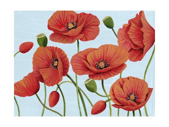 Poppy Topple III-Grace Popp-Art Print