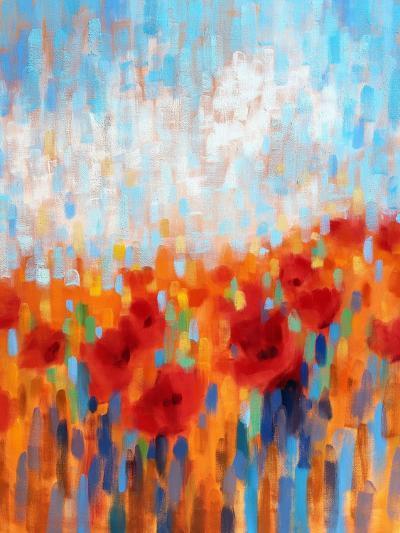 Poppy Walk-Claire Hardy-Art Print