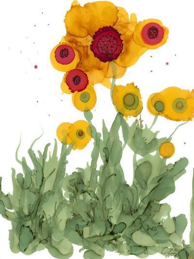 Poppy Whimsy I-Cheryl Baynes-Art Print