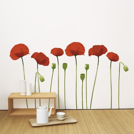 Poppy--Wall Decal