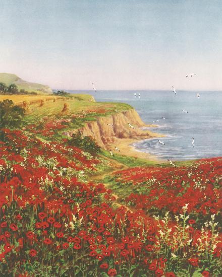 Poppyland-John Halford Ross-Giclee Print