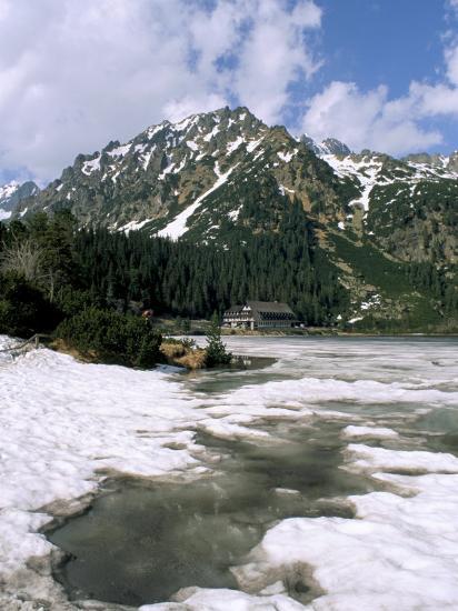 Popradske Pleso (Lake), High Tatra Mountains, Slovakia-Upperhall-Photographic Print