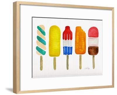 Popsicles-Cat Coquillette-Framed Art Print