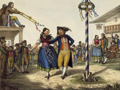 Popular Festivities, Mid 19th Century--Giclee Print