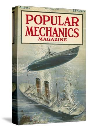Popular Mechanics, August 1917
